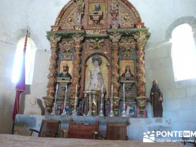 Parque Natural las hoces del río Duratón - Monasterio de la Hoz - Ermita de San Frutos -Cantalejo